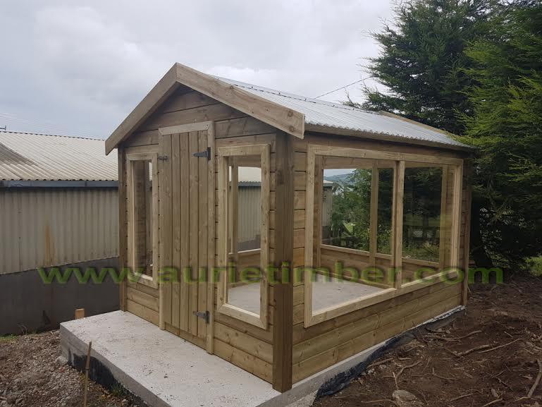 Garden Sheds Limerick aurie timber products ltd in limerick, co. limerick